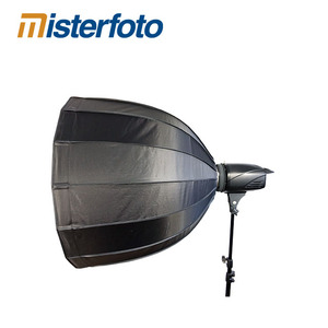 16-pole quick open soft box with universal adapter photographic studio deep soft box