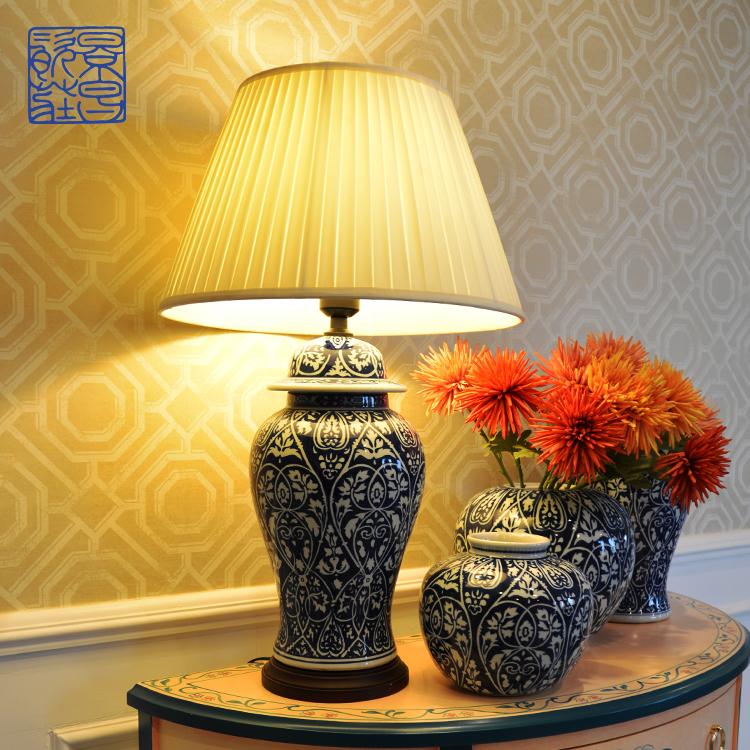أفضل بيع العتيقة الصينية كبيرة كبيرة مزهرية أرضية زهرة الأزرق والأبيض السيراميك الخزف طويل القامة الزنجبيل جرة للعيش ديكور المنزل