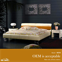 factory price new queen size bed dimensions HB705#