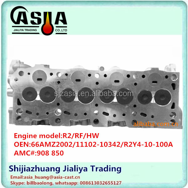 908850 OR2TF10-100B R2Y4-10-100A R2/RF Cylinder Head ASSEMBLY for Mazda