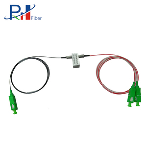 PHXFIBER Factory Supply 1260 ~ 1650 nm 1X2 SC/APC Connector Bypass Mechanical Optical Switch