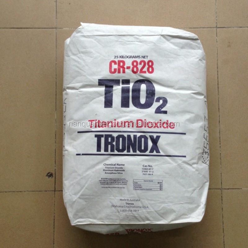 factory price titanium dioxide CR828 titanium price per kg titanium dioxide  tio2