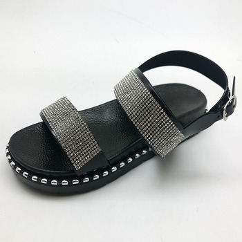 flat pu sandals for women and ladies on sale