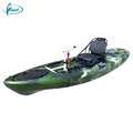 Hot selling single kayaks sit on top fishing pedal drive kayak