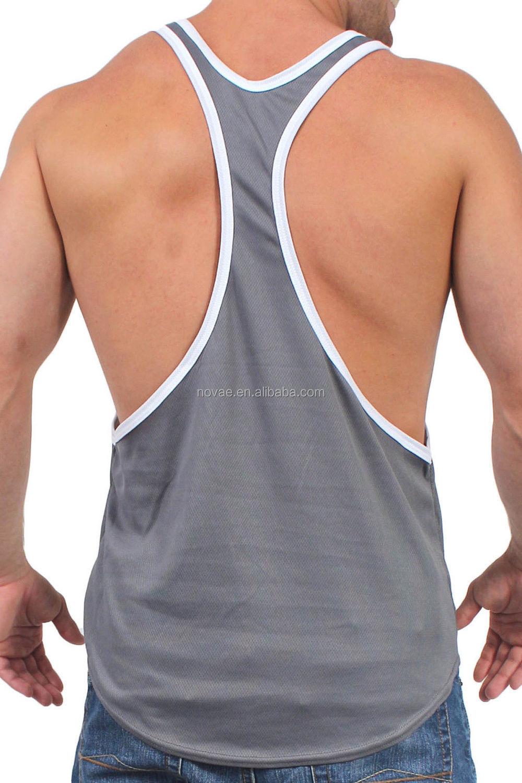 62cefcf4c74ad Sleeveless Shirts Open Side Racerback Tank Top Mens Singlet Sport  Bodybuilding Plus Size Gym Vest