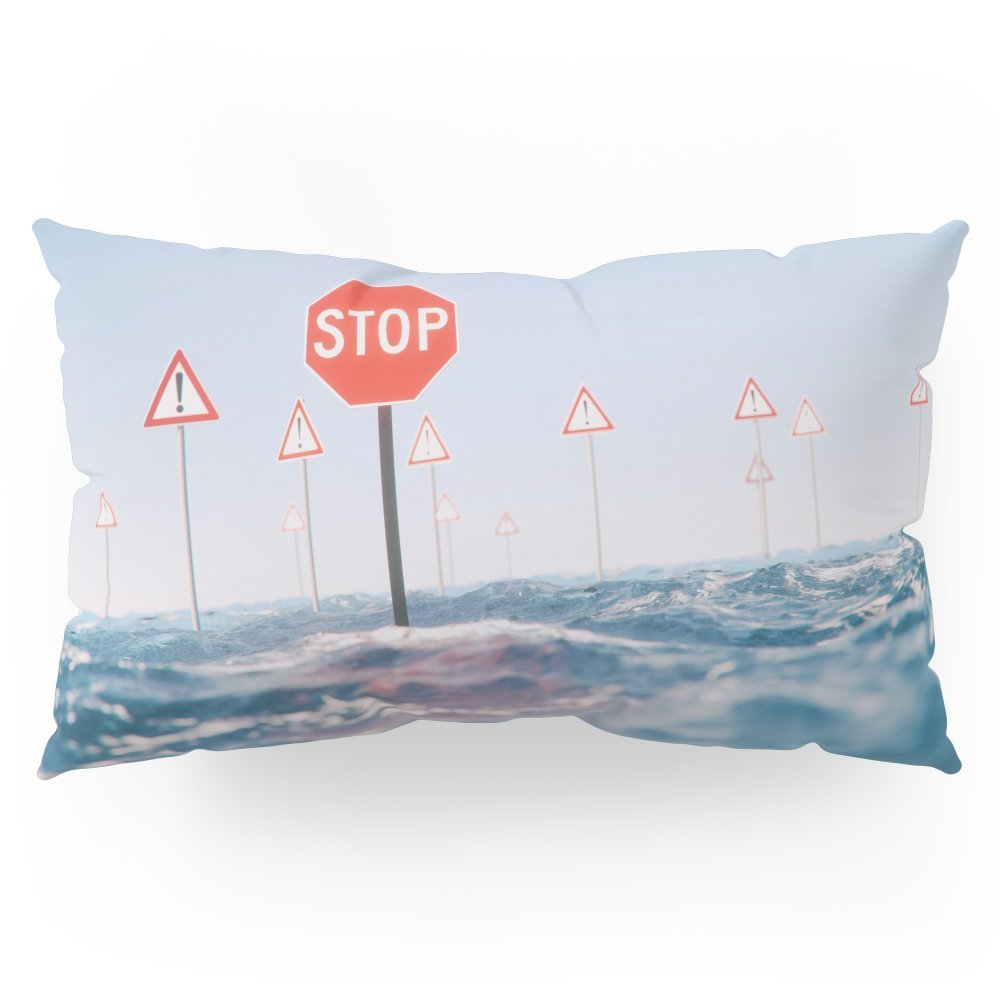 """Society6 Unstoppable Pillow Sham King (20"""" x 36"""") Set of 2"""