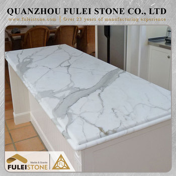 Discount natural moistureproof kitchen marble countertop