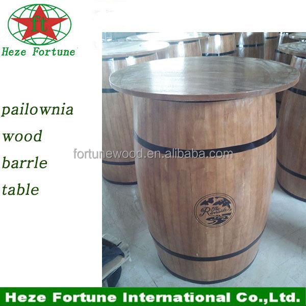 bois tonneau de vin de table de bar meubles table en bois id de produit 60273725233 french. Black Bedroom Furniture Sets. Home Design Ideas