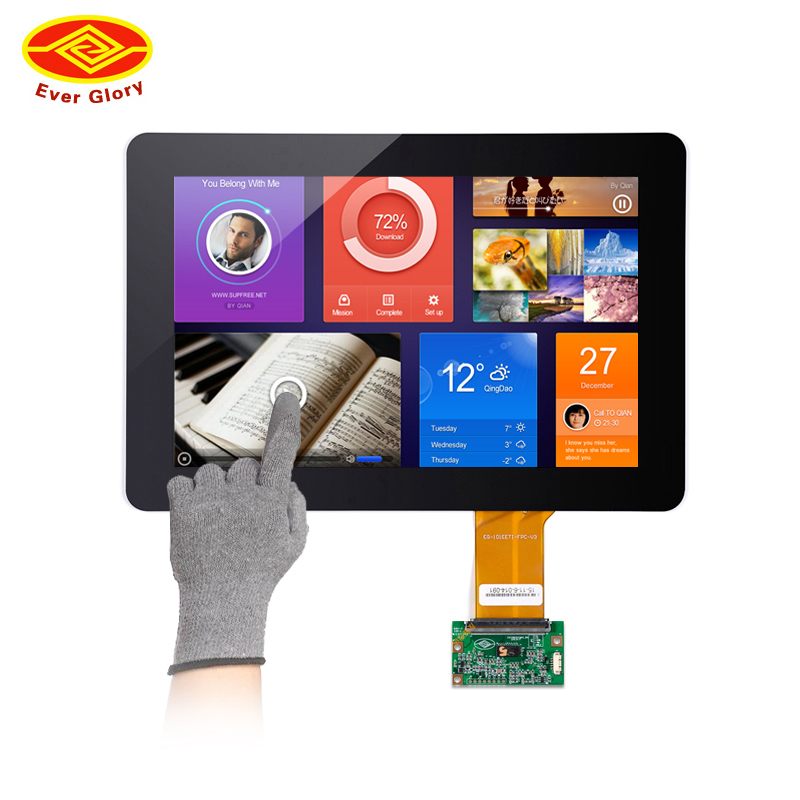 10,1 smart spiegel transparent glas handschuh stift touch screen für touch screen display