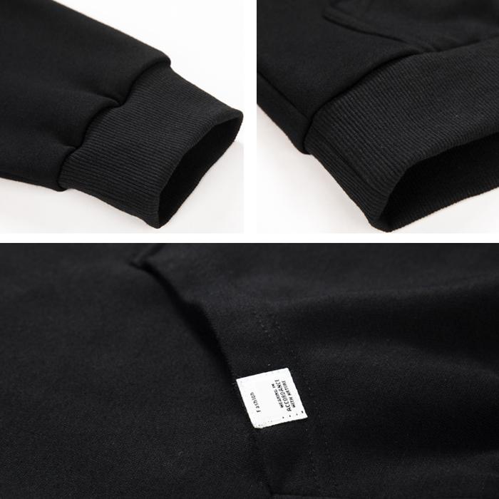 ขายส่งผ้าฝ้าย unisex เสื้อผ้าขนาดใหญ่ 6xl Warm จำนวนมาก plain mens ผู้หญิง Pullover hoodies