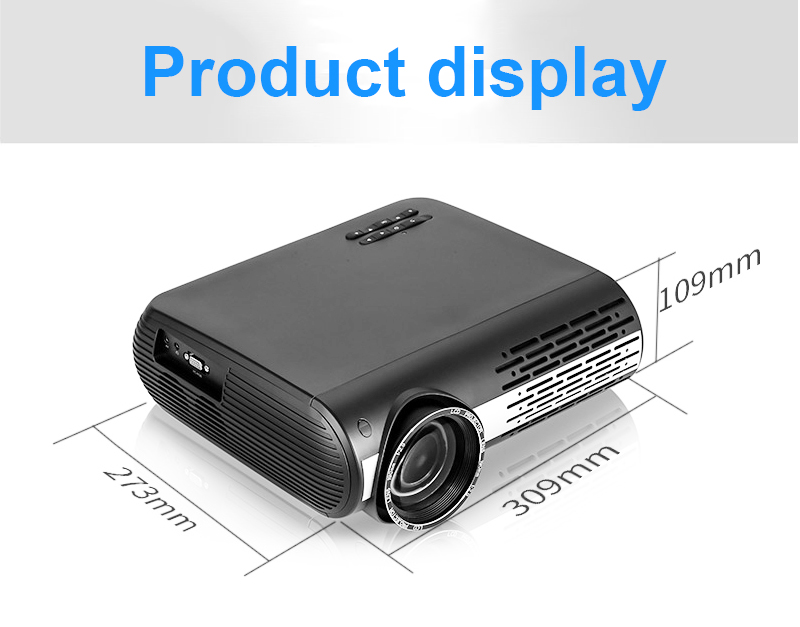 M2 Projector Android 6.0 OS Smart Wi-Fi Wireless Projection YouTube Online Video Projector