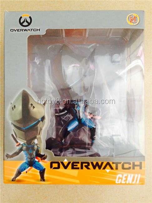 Gzltf Overwatch PVC Action Figure Genji Overwatch Q Ver. B