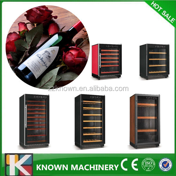 modern design wine and liquor display cabinet wine refrigerator cabinet