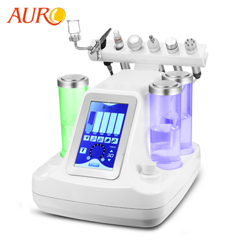 AU-S515A Facial Machine 6 in 1 Ultrasonic RF Oxygen Facial Machine