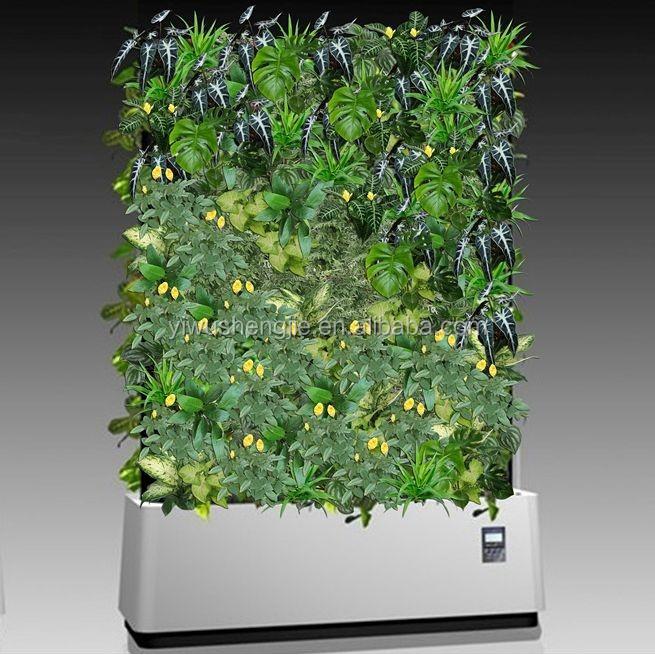 Cubierta de pared de pl stico barato al por mayor falso colgante de pared planta jard n vertical - Jardin vertical artificial barato ...