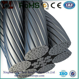 Port Crane Wire Rope With Compacted Strand 6xk36ws+iwrc Warrington ...