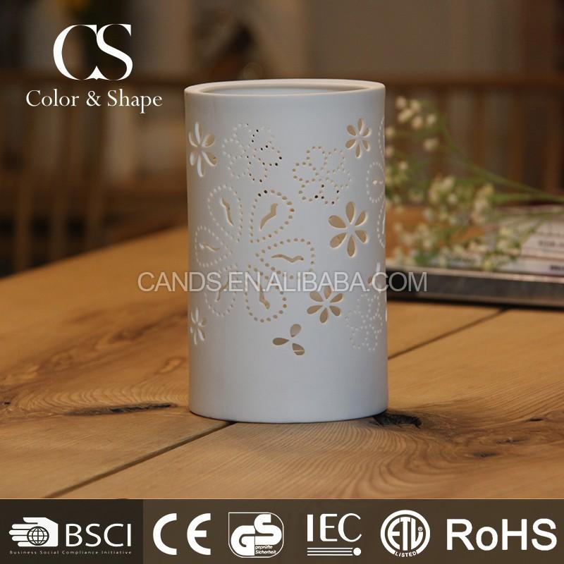 Modern design LED desk lamp flower pattern LED night light from China