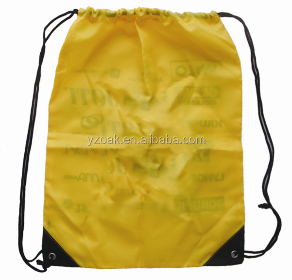 2015 Promotional supermarket grocery foldable polyester shopping bag