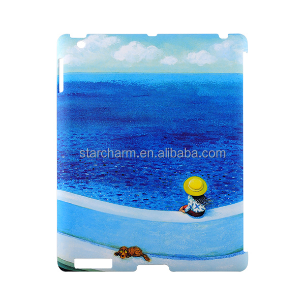 Alibaba hot selling waterproof and shockproof 3D printing sublimation case for iPad 2/3/4