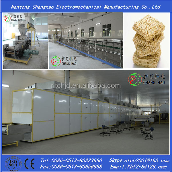 Non-Fried instant noodle/dried noodle/fresh noodle production line