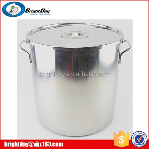 Stainless Steel 30 Gallon Stock Pot With Lid Steel Barrel Large ...