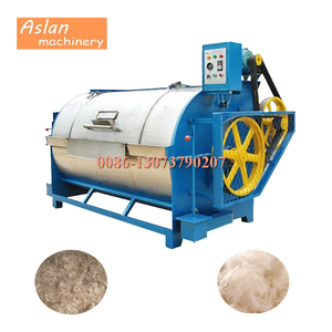 automatic sheep wool scouring machine/sheep wool washing machine/fiber cleaning machine
