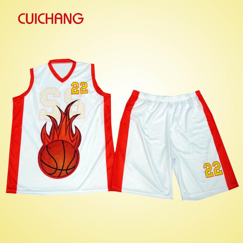 Custom Sublimation Basketball Jersey Uniforms Design China ...
