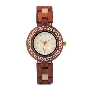BOBO BIRD Japan Mechanism Quartz Customized Wood Watches Ladies Watch for women
