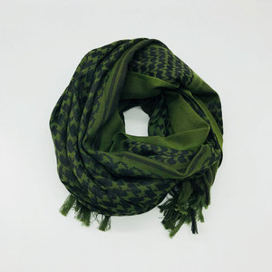 winter windproof scarf keffiyeh 100% cotton thick military shemagh