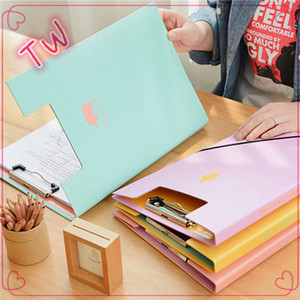 A4 B5 document folder ,good quality stainless metal clip file folder,color paper file clip for office use free sample