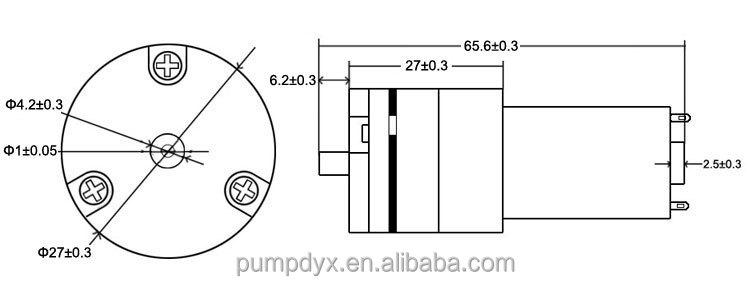 mini air pump for air conditioner drain pump