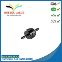 1/8 rubber ball inflation valve,PDVF small check valve