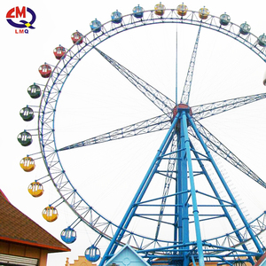 hot sale beautiful ferris wheel used amusement outdoor rides for sale