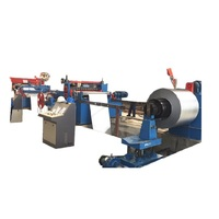 Automatic metal coil uncoiler and decoiler
