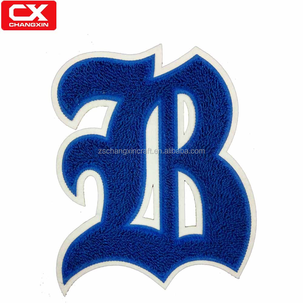 Special letter felt letter embroidery fabric patches