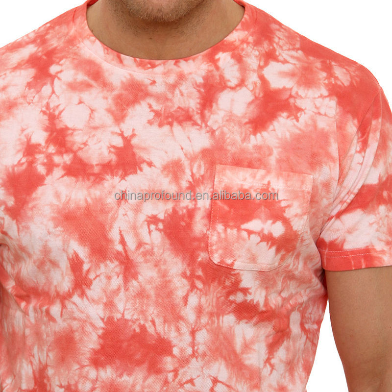 new style latest design fashion tie dye bulk blank t-shirts mens tee shirts fitness clothing for men bulk buy from china