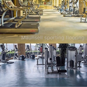 Export U.S.A/America hight quality rubber floor 100%EPDM mat for Gym room