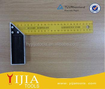 anodized aluminum professional framing square aluminium angle squareangel ruler