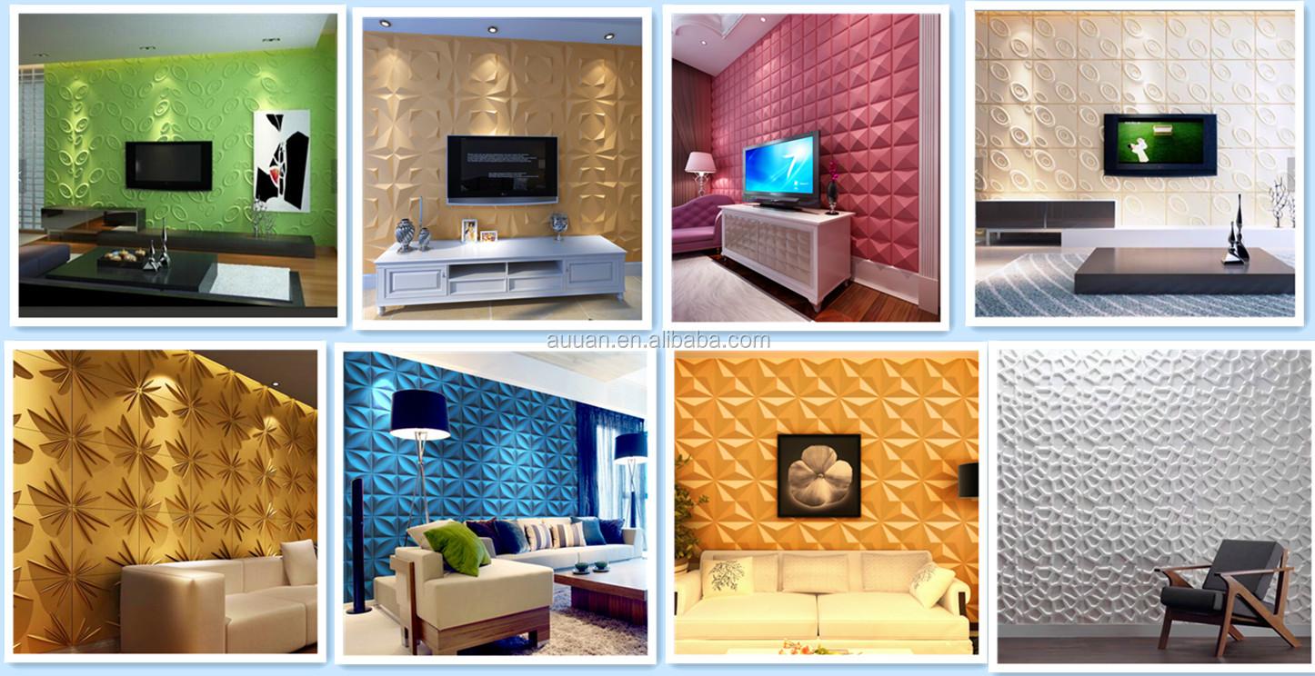 आंतरिक सजावट 3d दीवार पैनल 3d बोर्ड दीवार पैनल लहर डिजाइन