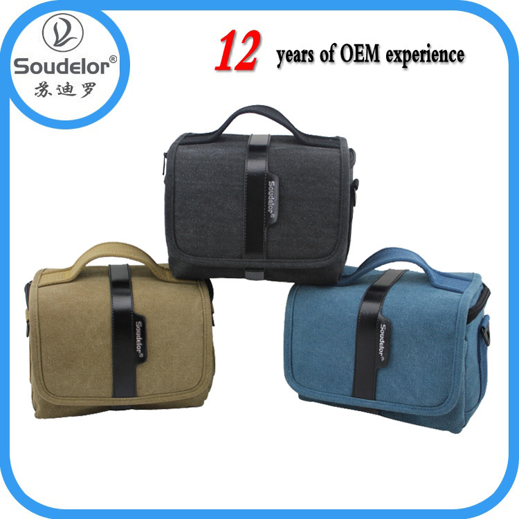 2015 canvas photo camera bag