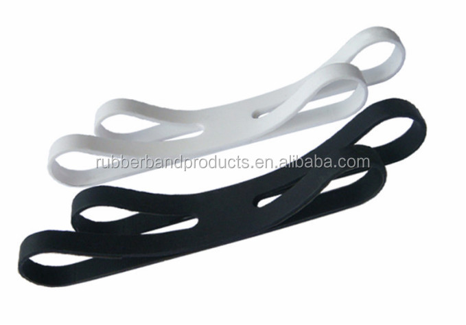2015 Silicone Rubber H Cross Band X Rubber Bands For