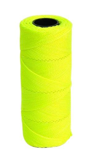 MARSHALLTOWN The Premier Line ML339 Mason's Line 500-Foot Fluorescent Yellow Braided Nylon