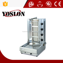Hot salesgas doner kebab machine, chicken shawarma grill machine from china