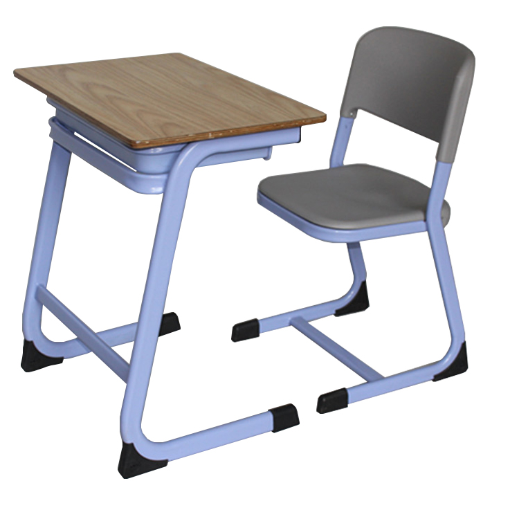 Modern Classroom Single kids furniture study table and chairs