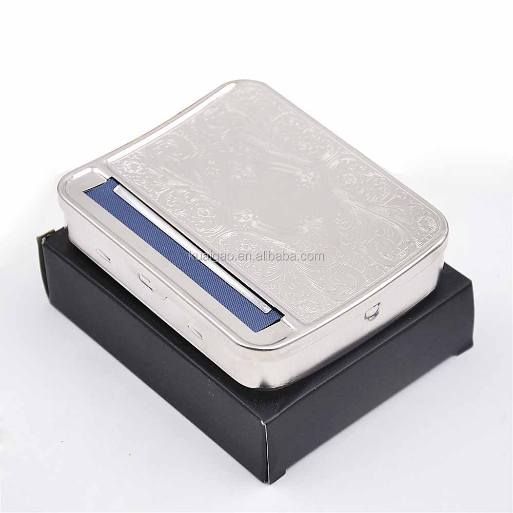 Kuaigao K-ROL4 Manual Cigarette Paper rolling box, wood rolling box for 78mm length cigarette