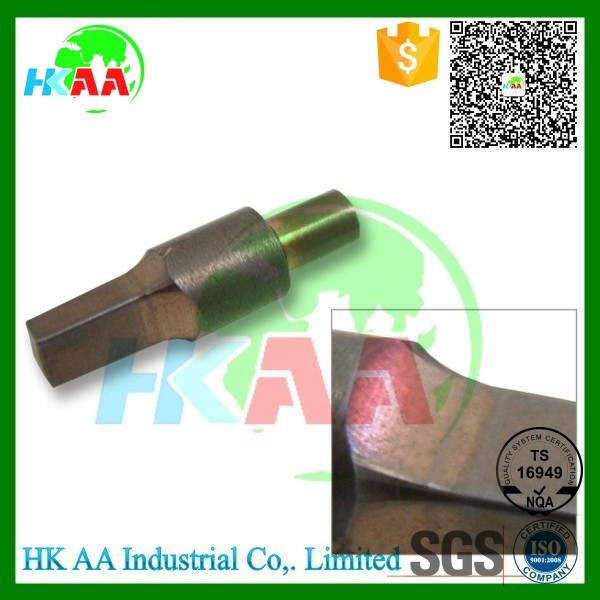 OEM high precision 5 axis Simultaneous cnc machining copper electrodes