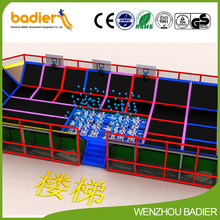 new style innovative cheap kids indoor playground trampoline replacement mats