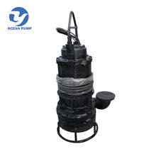 China ZJQ Series 400V excavator Submersible Slurry sand clay Pump for Dredging