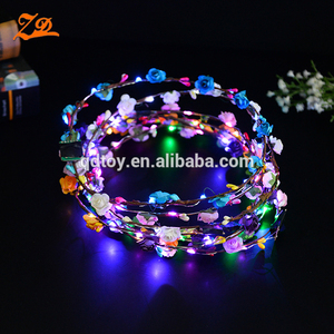 Light up Hawaiian LED Flower Leis