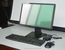New style 19 inch windows 7 touch screen monitor, POS system monitor with printer